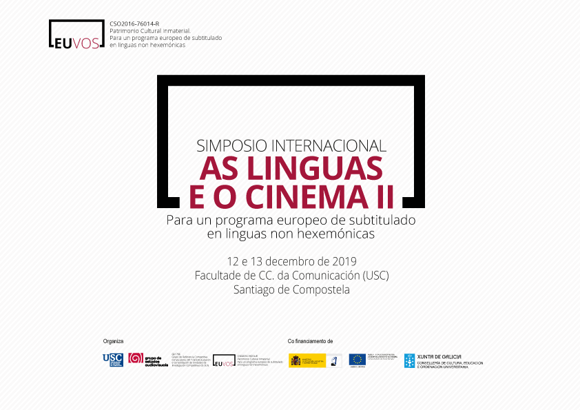 As linguas e o cinema II